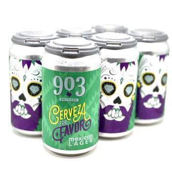 903 Brewers: Cerveza Por Favor 6 Pack Cans