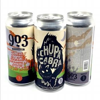 903 Brewers: Chupa Cabra Batch 3 16oz Can