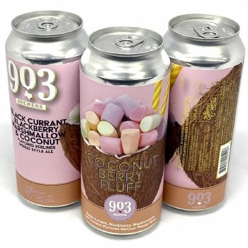 903 Brewers: Coconut Berry Fluff Slushy 16oz Can