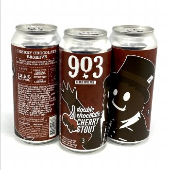 903 Brewers: Double Chocolate Cherry Stout 16oz Can