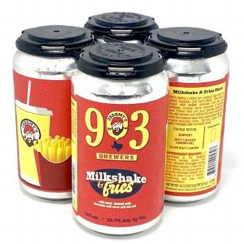 903 Brewers: Milkshake & Fries 4 Pack Cans