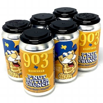 903 Brewers: P'Nut Butter Crunch 6 Pack Cans