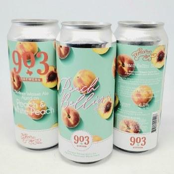 903 Brewers: Peach Bellini Slushy 16oz Can