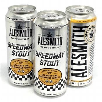 Alesmith: Speedway Stout with Espresso & Madagascar Vanilla 16oz Can