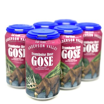 Anderson Valley: Framboise Rose Gose 6 Pack