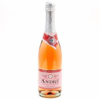 Andre Pink Moscato 750ml