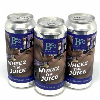 B 52 Brewing Co: Wheez The Juice 16oz Can