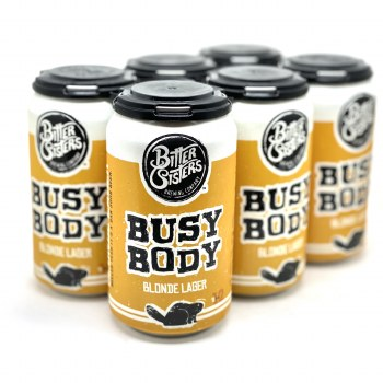 Bitter Sisters: Busy Body Lager 6 Pack Cans