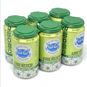 Blue Owl: Limetastico 6 Pack Cans