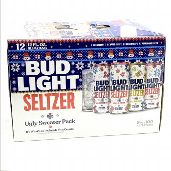 Bud Light: Seltzer Ugly Sweater Variety 12 Pack