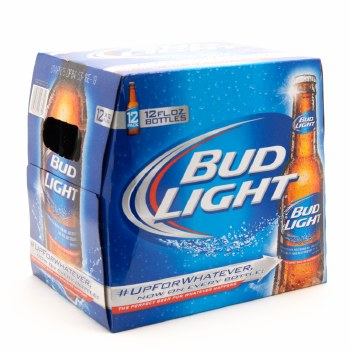 Bud Light: 12 Pack (Bottles)