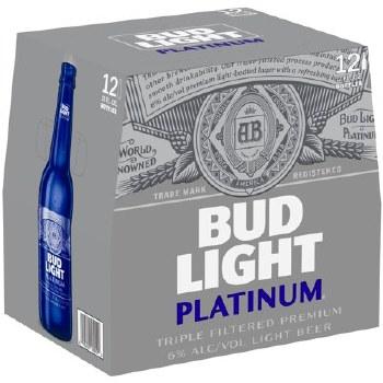 Bud Light: Platinum 12 Pack (Bottles)