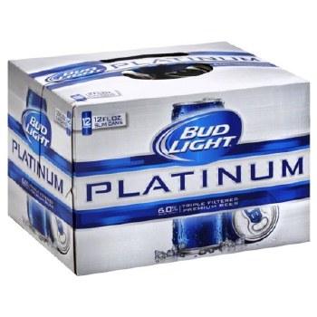 Bud Light: Platinum 12 Pack (Cans)