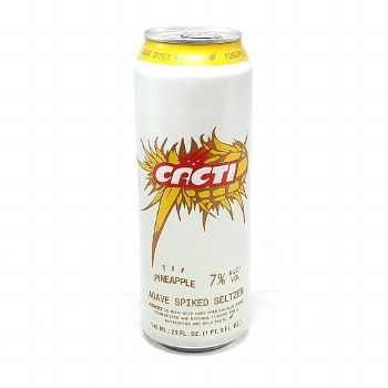 Cacti: Hard Seltzer Pineapple 24oz Can