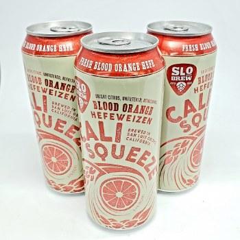 SLO Brew: Cali Squeeze Blood Orange 16oz Can