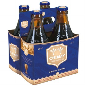 Chimay: Blue Grand Reserve (4 Pack)