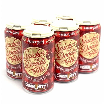 Community: Snickerdoodle 6 Pack Cans