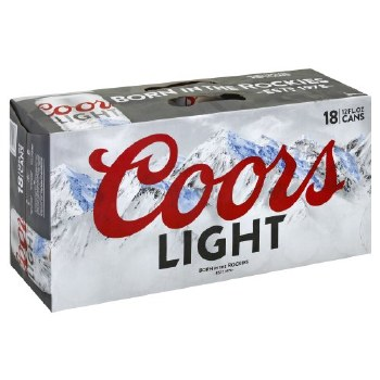 Coors: Light 18 Pack (Cans)
