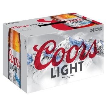 Coors: Light 24 Pack (Bottles)