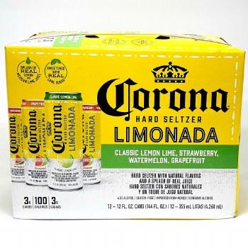 Corona: Seltzer Limonada Variety 12 Pack Cans