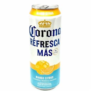 Corona: Refresca Mas Mango Citrus 24oz Can
