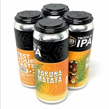 D9 Brewing: Hakuna Matata 4 Pack Cans