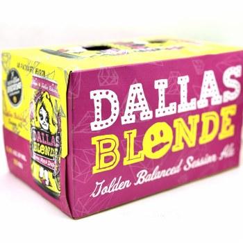 Deep Ellum: Dallas Blonde 6 Pack Can
