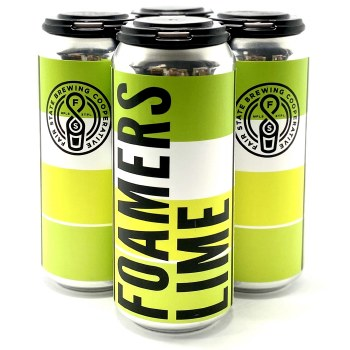 Fair State: Crankin' Foamers Lime 4 Pack 16oz Cans