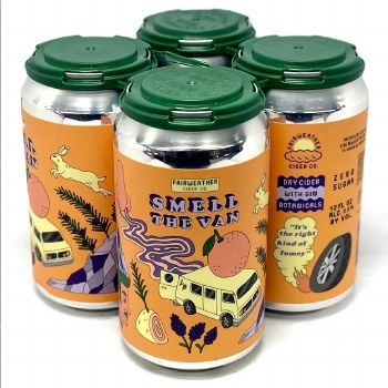 FairWeather: Smell The Van 4 Pack 12oz Cans