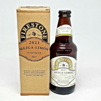 Firestone Walker: Mezca-Limon 2021 12oz Bottle