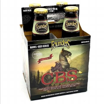 Founders: Canadian Breakfast Stout 4 Pack