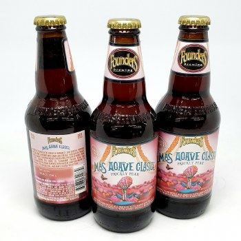 Founders: Mas Agave Prickly Pear 12oz Bottle