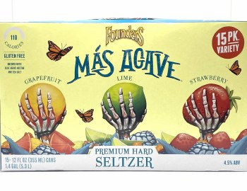Founders: Mas Agave 15 Pk Variety