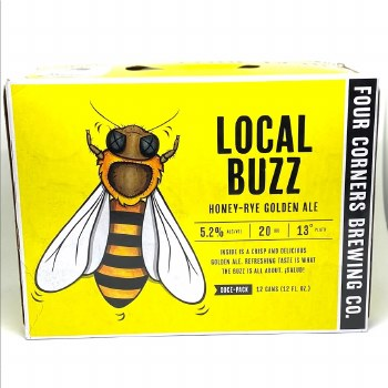 Four Corners: Local Buzz 12 Pack Can