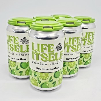 Great Raft: Life Itself Key Lime Pie Gose 6 Pack Cans