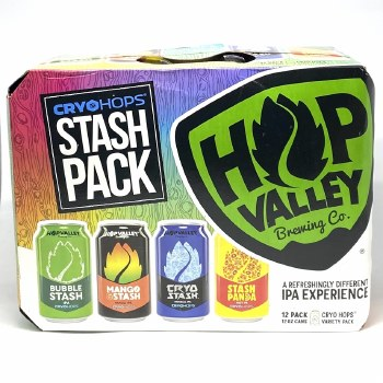 Hop Valley: Stash Variety 12 pack 12oz
