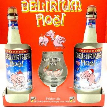 Huyghe Brewing: Delirium Noel Gift 2 Pack