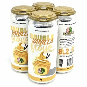 Ingenious: Double Vanilla Froyo 4 Pack Cans