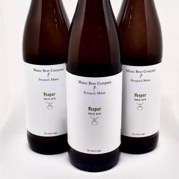 Maine Beer Co: Peeper Pale Ale 500 Ml Bottle