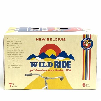 New Belgium: Wild Ride Amber IPA 6 Pack Cans