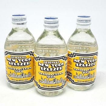 Original New York Seltzer: Vanilla Cream Soda 10oz Bottle