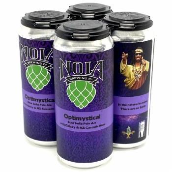 NOLA: Optimystical 4 Pack Cans
