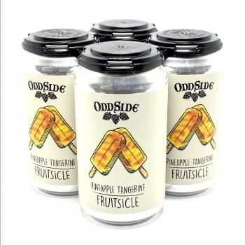 Oddside: Fruitsicle Pineapple Tangerine 4 Pack