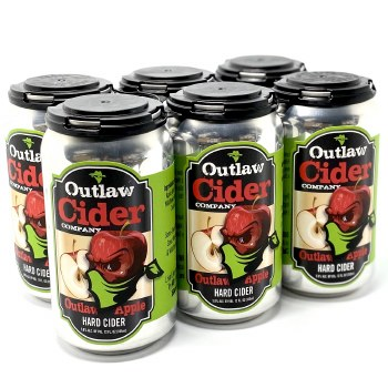 Outlaw: Cider outlaw apple 6 pack
