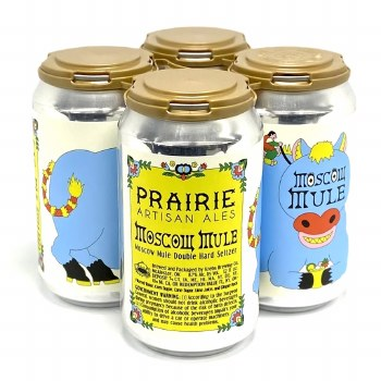 Prairie: Moscow Mule Seltzer 4 Pack Cans
