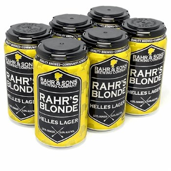 Rahr & Sons: Blonde 6 Pack