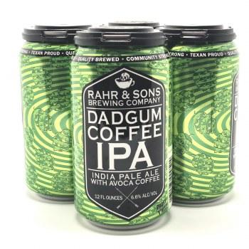 Rahr & Sons: Dadgum Coffee IPA 4 Pack
