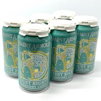 Saint Arnold: Just Right Semi-Dry Cider