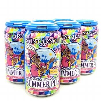 Saint Arnold: Summer Pils 6 Pack Cans