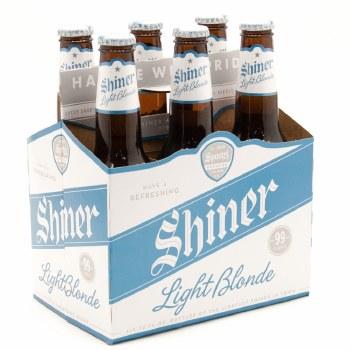 Shiner: Light Blonde 6 Pack (Bottles)